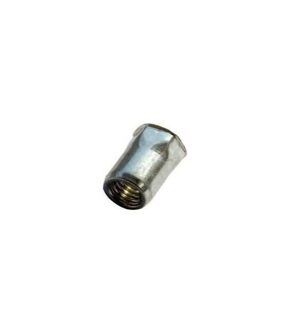 Заклепка M4*12 мм из нержавеющей стали с внутренней резьбой, уменьшенный бортик, полушестигранная